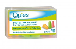 Protection auditive en Mousse Fluo / Protection auditive : Bouchons et casques anti-bruit